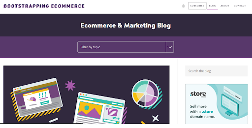 Bootstrapping Ecommerce