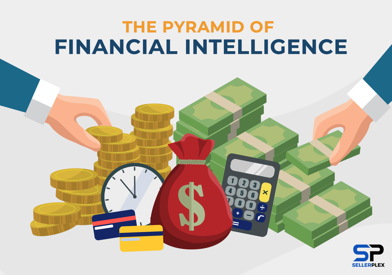 The Pyramid of Financial Intelligence infographics