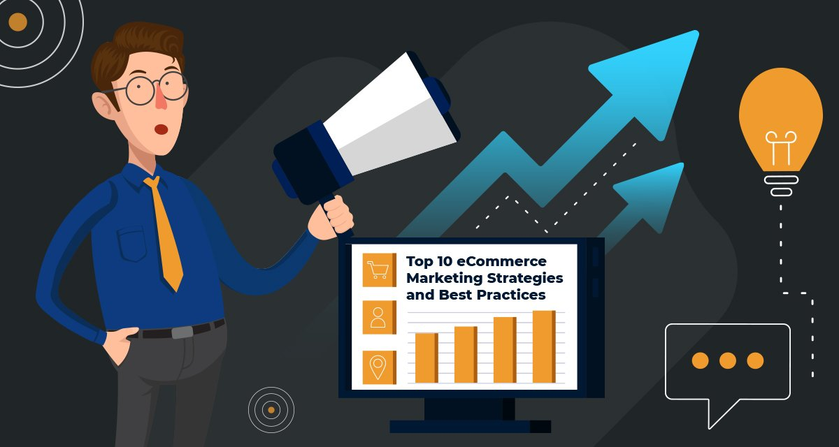 Top 10 eCommerce Marketing Strategies and Best Practices Infographics